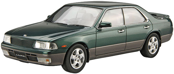 ザ・モデルカー No.SP 1/24 ニッサン GC34 ローレル メダリストV/クラブS '93 プラモデル[アオシマ]《在庫切れ》