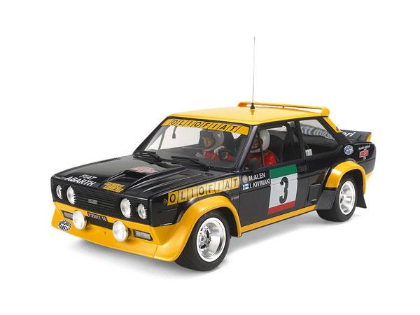 1/20 フィアット 131 アバルト ラリー OLIO FIAT プラモデル[タミヤ]《発売済・在庫品》