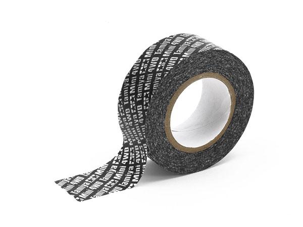 ミニ四駆マルチテープ (20mm幅 ブラック)[タミヤ]《発売済・在庫品》