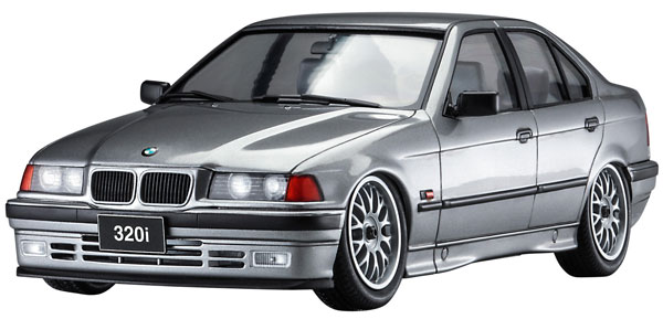 1/24 BMW 320i w/チンスポイラー プラモデル[ハセガワ]《在庫切れ》
