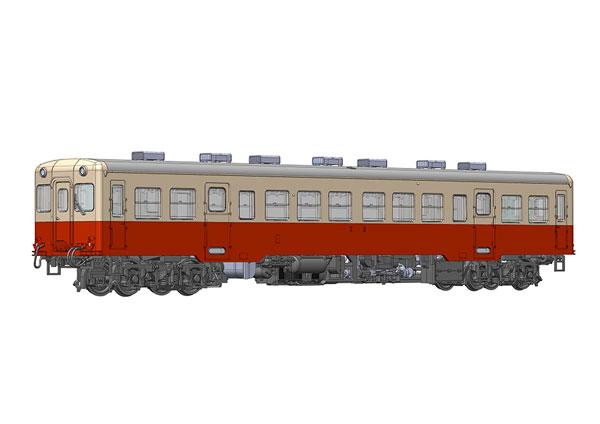 小湊鐵道キハ200形[中期型](ボディ着色済みキット) 1/80 プラモデル[プラム]《06月予約》