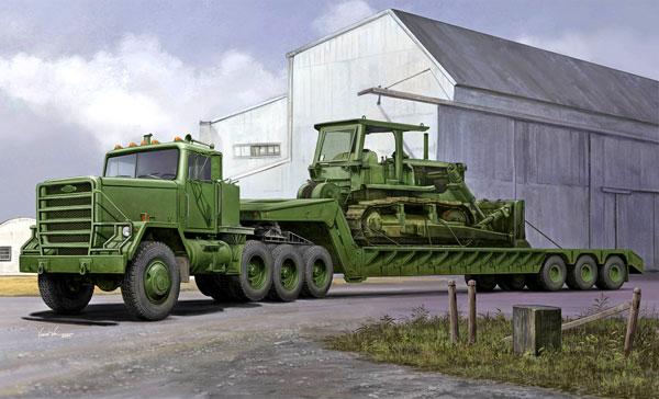 1/35 M920 トラクター/M870A1セミトレーラー プラモデル[トランペッターモデル]《在庫切れ》
