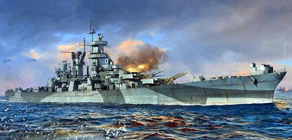 1/700 アメリカ海軍 大型巡洋艦 CB-1 アラスカ プラモデル[トランペッターモデル]《在庫切れ》