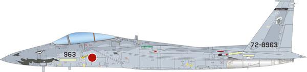 """1/72 航空自衛隊 F-15Jイーグル 2003戦競 第303飛行隊 """"白龍"""" プラモデル[プラッツ]《在庫切れ》"""