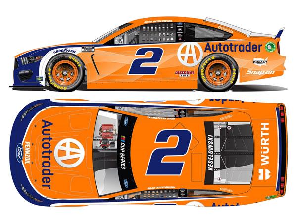 """1/64 """"ブラッド・ケセロウスキー"""" #2 オートトレーダー フォード マスタング NASCAR 2021[Lionel Racing]《07月予約》"""