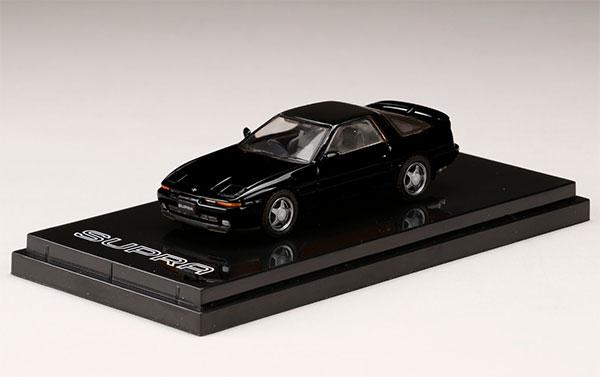 1/64 トヨタスープラ (A70) 2.5GT TWIN TURBO R ブラック[ホビージャパン]《05月予約》