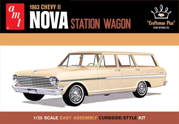 1/25 シボレーII ノヴァ ステーションワゴン 1963 プラモデル[AMT]《04月予約》