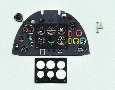 1/32 スピットファイアMk.II・着色計器板・レベル[ヤフーモデル社]《04月予約》