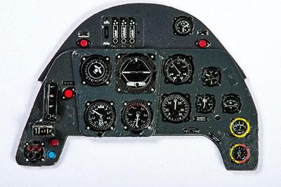 1/32 メッサーシュミットBf109G・着色計器板・レベル[ヤフーモデル社]《04月予約》