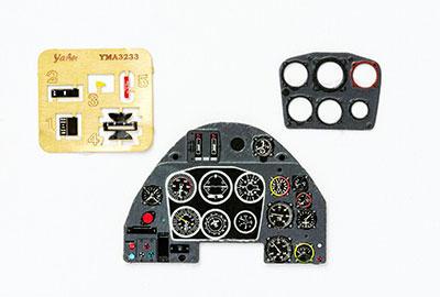 1/32 メッサーシュミットBf109K・着色計器板・トランペッター[ヤフーモデル社]《04月予約》