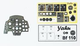 1/72 メッサーシュミットBf110C/D・着色計器板・サイバーホビー[ヤフーモデル社]《04月予約》