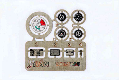 1/35 Sd.kfz.251・着色計器板・ドラゴン/ズベズダ[ヤフーモデル社]《04月予約》