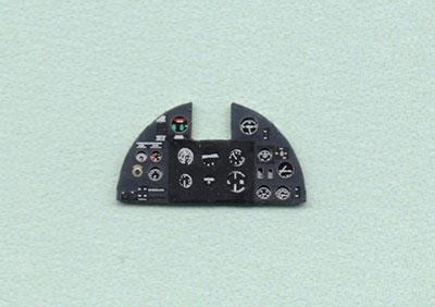 1/72 ホーカー・ハリケーンMk.I・着色計器板・エアフィクス他[ヤフーモデル社]《04月予約》