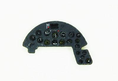 1/72 F4U-1Aコルセア・着色計器板・レベル[ヤフーモデル社]《04月予約》