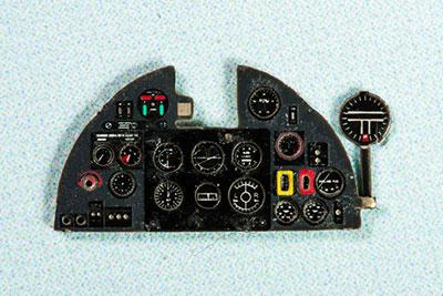 1/72 ホーカー・ハリケーンMk.II・着色計器板・エアフィクス他[ヤフーモデル社]《04月予約》