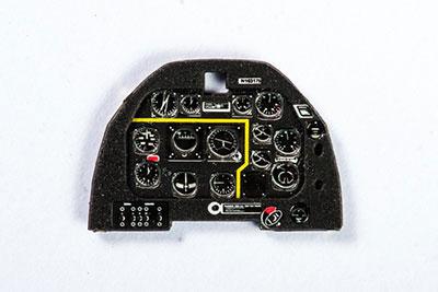 1/72 P-51Dムスタング初期・着色計器板・T社他[ヤフーモデル社]《04月予約》