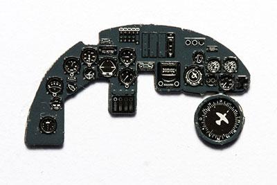 1/72 ドルニエDo17Z夜戦型・着色計器板・ICM[ヤフーモデル社]《04月予約》