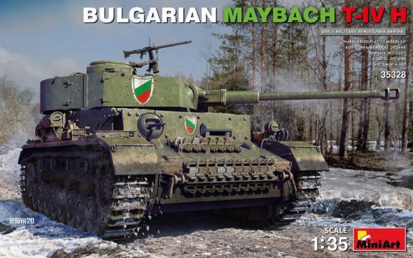 1/35 ブルガリア軍マイバッハT-IV H型 プラモデル[ミニアート]《発売済・在庫品》