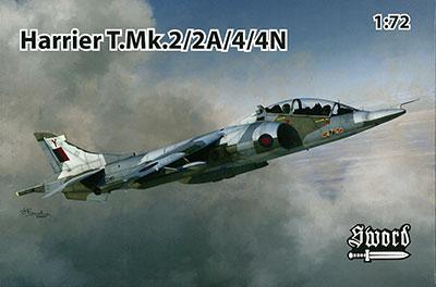 1/72 ハリアーT.Mk.2/2A/4/4N プラモデル(再販)[ソード]《04月仮予約》