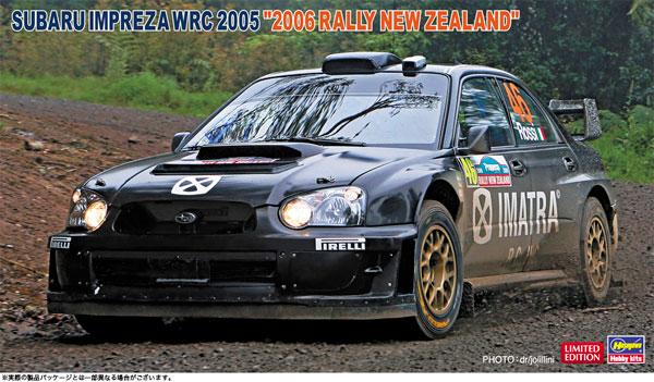 """1/24 スバル インプレッサ WRC 2005 """"2006 ラリー ニュージーランド"""" プラモデル[ハセガワ]《05月予約》"""