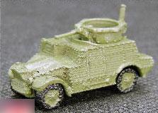 マイクロギャラリーミリタリーシリーズ 1/144 Morris Cs9〈ダイキャスト製〉 塗装済完成品[アイコム]《発売済・在庫品》