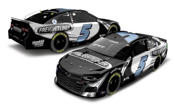 """1/64 """"カイル・ラーソン"""" #5 フレイトライナー シボレー カマロ NASCAR 2021[Lionel Racing]《11月予約》"""