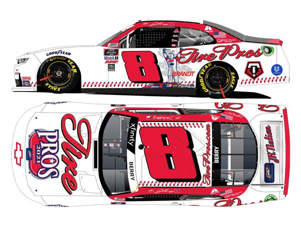"""1/64 """"ジョシュ・ベリー"""" #8 タイヤプロ・スローバック シボレー カマロ NASCAR Xfintyシリーズ 2021[Lionel Racing]《11月予約》"""
