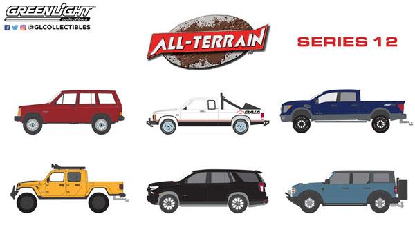 1/64 All-Terrain Series 12 6種セット[グリーンライト]《10月仮予約》