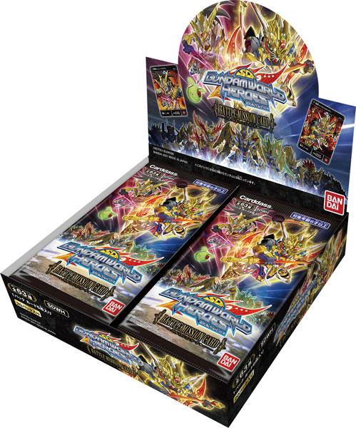 SDガンダムワールド ヒーローズ バトルミッションカード 20パック入りBOX[バンダイ]《06月予約》