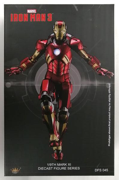 【中古】(本体C/箱B)1/9 ダイキャスト フィギュア シリーズ アイアンマン3 アイアンマン マーク11[キングアーツ]《発売済・在庫品》