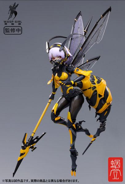 【特典】BEE-03W WASP GIRL ブンちゃん 1/12 完成品アクションフィギュア[蝸之殼スタジオ]《06月予約》