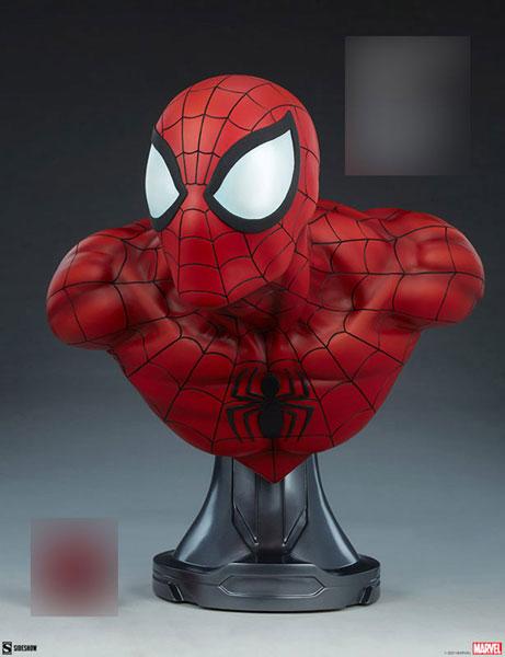 『マーベル・コミック』等身大バスト スパイダーマン[サイドショウ]【同梱不可】【送料無料】《01月仮予約》