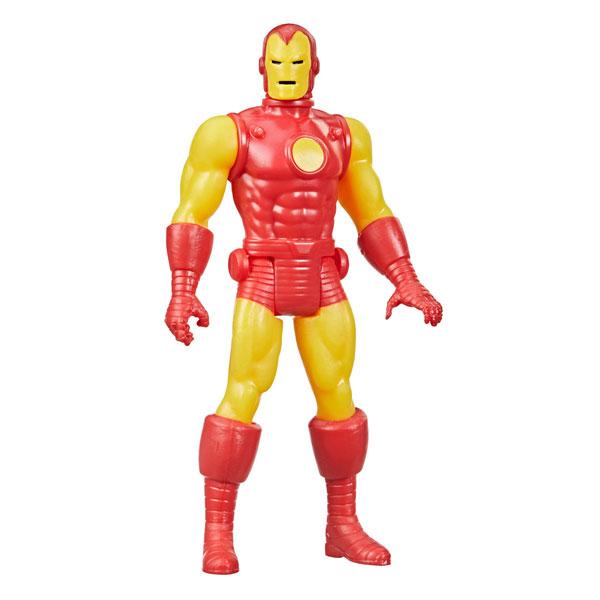 『マーベル・コミック』「マーベル・レジェンド RETRO」3.75インチ・アクションフィギュア #07 アイアンマン[ハズブロ]《在庫切れ》