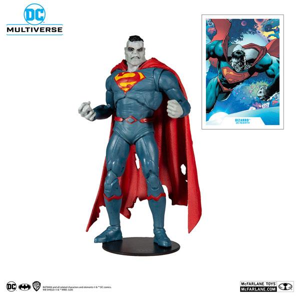 『DCコミックス』DCマルチバース 7インチ・アクションフィギュア #051 ビザロ [コミック/DC Rebirth][マクファーレントイズ]《05月仮予約》