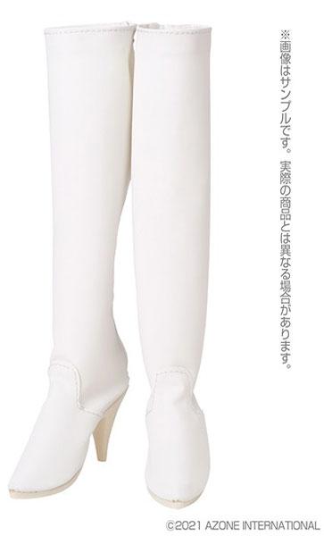 1/3スケール用 AZO2ロングブーツ マットホワイト (ドール用)[アゾン]《05月予約》