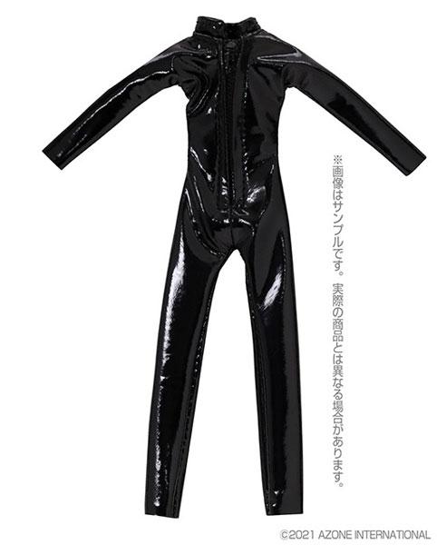 ピコニーモ用 1/12 キャットスーツ エナメルブラック (ドール用)[アゾン]《05月予約》