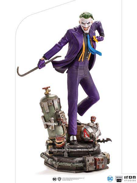 『DC』 アイアン・スタジオ スタチュー 「アートスケール」1/10スケール ジョーカー[アイアン・スタジオ]【送料無料】《在庫切れ》