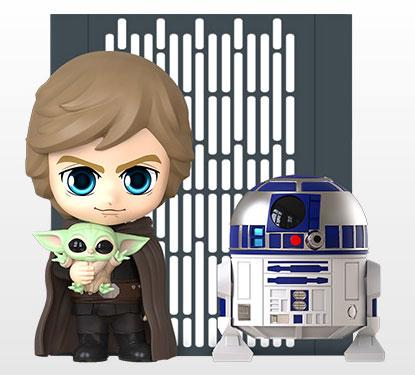 コスベイビー『マンダロリアン』[サイズS]ルーク・スカイウォーカー(ザ・チャイルド付き)&R2-D2〈2体セット〉[ホットトイズ]《在庫切れ》