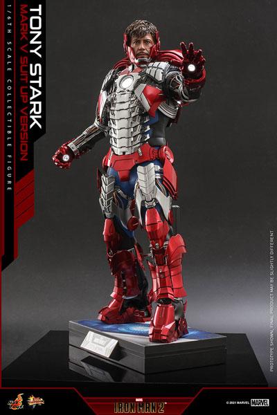 ムービーマスターピース アイアンマン2 トニー・スターク MarkV SuitUpVer 延期前倒可能性大[ホットトイズ]【同梱不可】【送料無料】《12月仮予約》