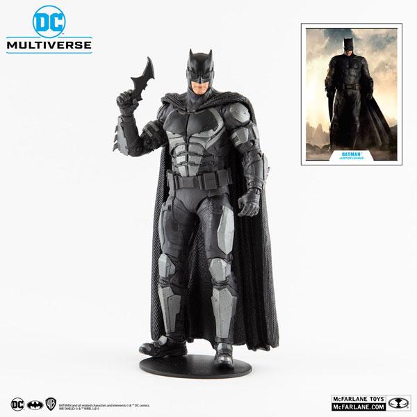 DCマルチバース アクションフィギュア #058 バットマン 『ジャスティス・リーグ:ザック・スナイダーカット』[マクファーレントイズ]《在庫切れ》