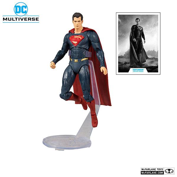 DCマルチバース アクションフィギュア スーパーマン 『ジャスティス・リーグ:ザック・スナイダーカット』[マクファーレントイズ]《在庫切れ》