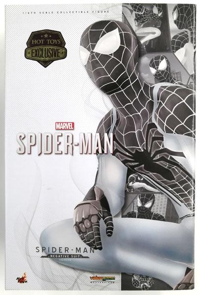 ビデオゲーム・マスターピース Marvel's Spider−Man 1/6スケールフィギュア スパイダーマン (ネガティブ・スーツ版) (スパイダーマン エクスクルーシブ・ストア ジャパンツアー限定)
