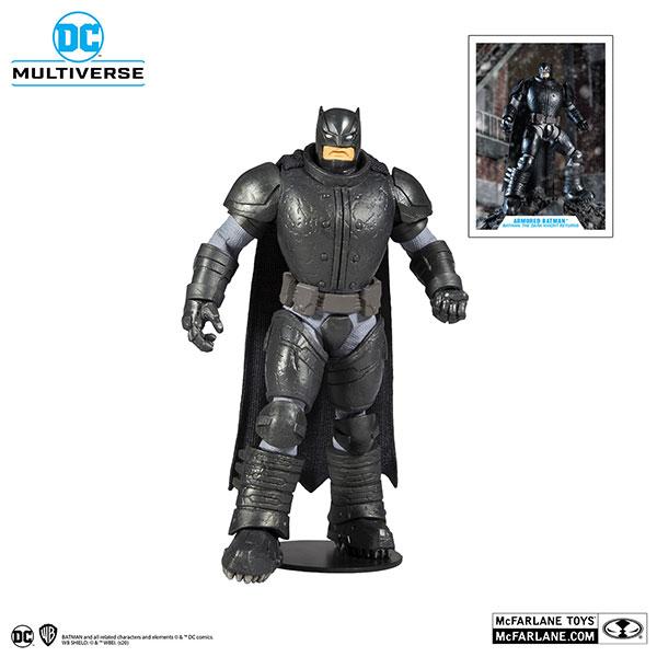 DCマルチバース 7インチ・アクションフィギュア #075 アーマード・バットマン[The Dark Knight Returns][マクファーレントイズ]《09月予約》