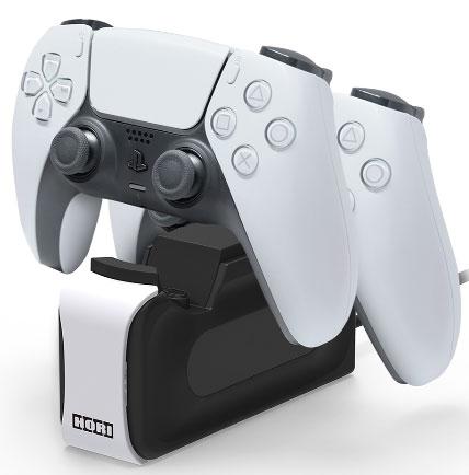 DualSense ワイヤレスコントローラー専用 充電スタンドダブル (PS5用)[ホリ]《06月予約》