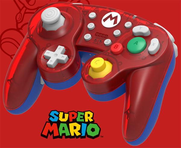 ホリ ワイヤレスクラシックコントローラ for Nintendo Switch マリオ[ホリ]《発売済・在庫品》