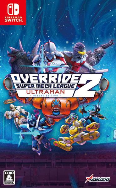 Nintendo Switch オーバーライド 2:スーパーメカリーグ ULTRAMAN DX Edition[オーイズミ・アミュージオ]《08月予約》