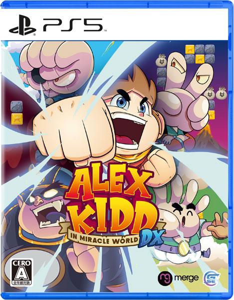 【特典】PS5 Alex Kidd in Miracle World DX[Game Source Entertainment]《08月予約》