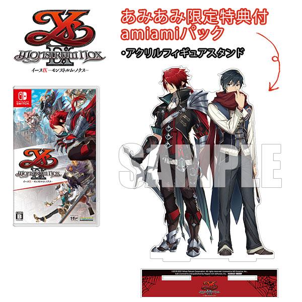 【あみあみ限定版】Nintendo Switch イースIX -Monstrum NOX- amiamiパック[日本一ソフトウェア]《09月予約》