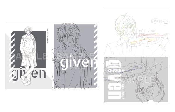 Lerche 原画クリアファイル 映画 ギヴン 村田雨月(再販)[Gift]《06月予約》