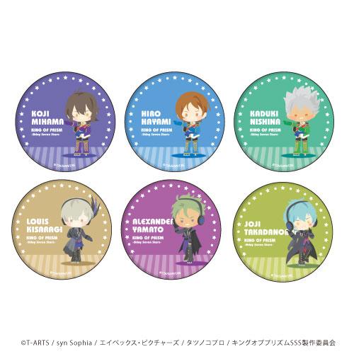 缶バッジ「KING OF PRISM -Shiny Seven Stars-」27/ぽすてる 6個入りBOX[A3]《05月予約》